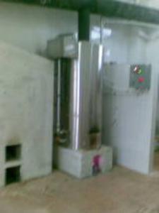烧废料热水锅炉