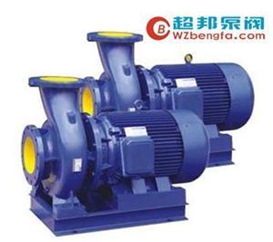 卧式管道循环水泵