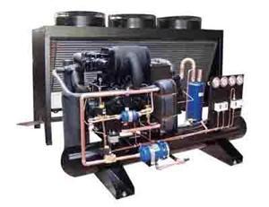 LFS风冷单机双级低温冷凝组机