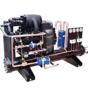 LWS水冷单机双级低温冷凝组机