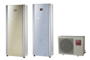 麦科尔空气源冰箱型双胆分体机