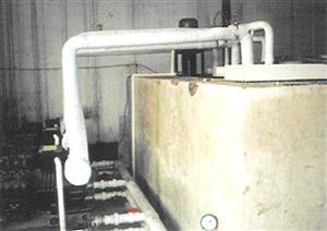 河南蓝冰制冷盐水池及冷水机组