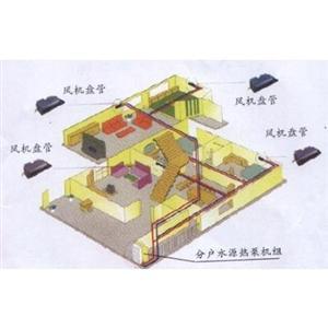 湖南水源热泵空调系统