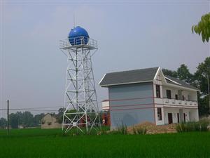 热浸锌钢架水塔