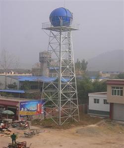 热镀锌钢架水塔