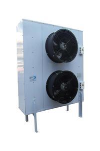 立式两个风扇冷凝器