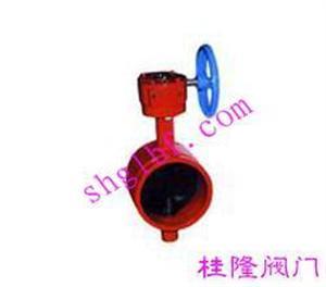 沟槽涡轮蝶阀D381X-16