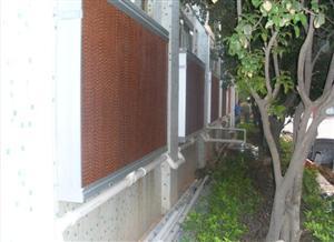 重庆清风降温水濂墙系统