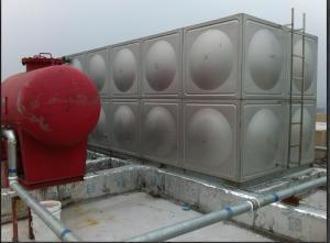 鞍山瓦房店玻璃钢水箱不锈钢水箱