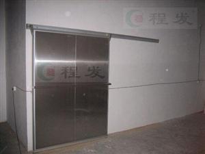 程发不锈钢面板冷库门