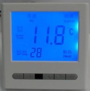 液晶温控器中央太阳城线上娱乐官网控制面板