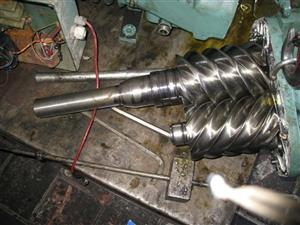 维修汉钟螺杆压缩机