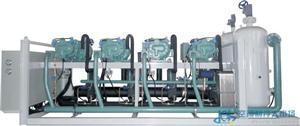 低温螺杆压缩冷凝并联制冷机组