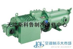 天津比泽尔HSKC螺杆式压缩机噪音大故障维修