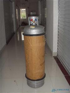 QISHANR启山60L可重复充装焊接钢瓶、制冷剂钢瓶价格