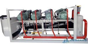 四并联高温比泽尔工业水冷机组