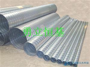 北京螺旋风管 管件