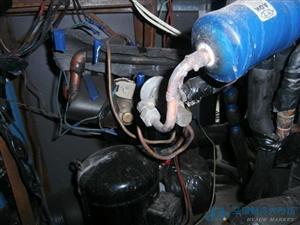变频中央空调、多联机压缩机回油故障维修