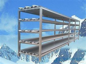 速冻用搁架板蒸发器