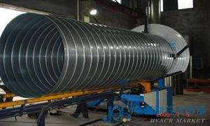 螺旋管道生产线