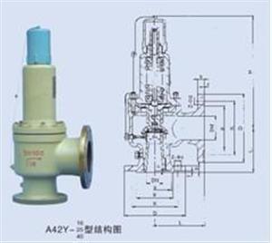 A42Y-40P弹簧式安全阀