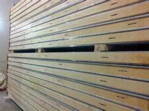 直销阻燃保温冷库板聚氨酯保温板