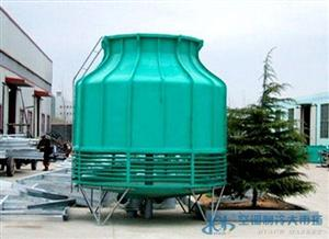 玻璃钢圆形逆流式冷却塔