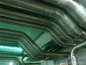 重庆螺旋风管通风工程安装,加工