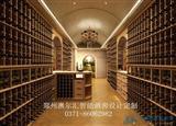 新乡酒窖设计酒窖恒温恒湿空调酒架酒柜设计
