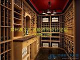 郑州红酒酒窖设计酒窖恒温恒湿空调安装酒架酒柜设计
