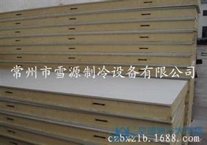 直销聚氨酯冷库板 彩钢板
