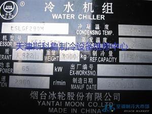 冰轮LSLGF290M螺杆式冷水机组维修