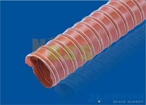 硅胶暖风管  橡胶伸缩风管
