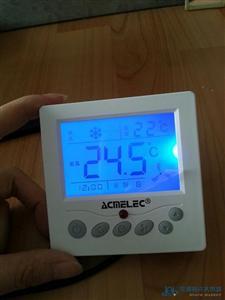 南京越美风机盘管温度控制器 蓝色背光