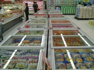 湖北生鲜超市风冷双岛柜 双岛柜价格