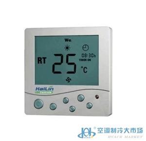正品海林HL2008DB2―L宽屏中央空调液晶温控器 控制面板