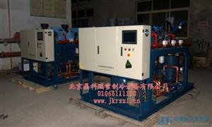2*40HP意大利Refcomp螺杆并联制冷机组