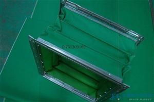 专业生产定做方形耐高温防火软接 帆布软接 帆布风管