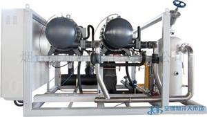 复盛两机并联制冷机组/螺杆速冻冷藏机组