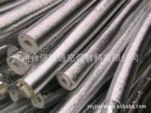 厂家生产 防火 美观 复合铝箔PE保温棉 复合铝箔PE管