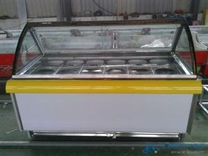 A型冰激凌展示柜