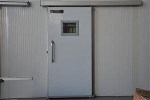 轻型HR系列冷库门 侧滑道平移冷库门