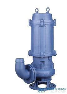 QWD焊接刀片潜水排污泵