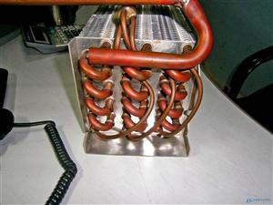 上海一成翅片式列管冷凝器散热器
