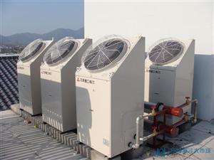 超级风冷热泵安装工程