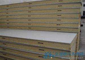 哈尔滨齐齐哈尔B1级聚氨酯冷库板/外墙保温B1级聚氨酯