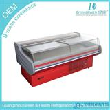 2米鲜肉柜|卧式生鲜冷藏冷冻柜