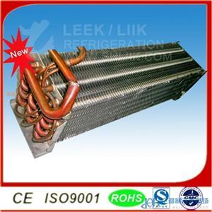 空调制冷配件翅片式列管冷凝器换热器