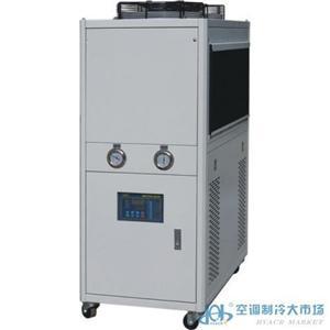 风冷式冷油机/风冷式油冷机/油冷机/油冷却器/油降温机