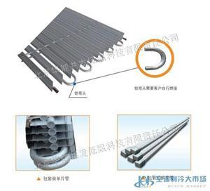 单片管铝合金翅片管
